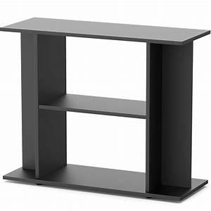 meuble noir avec etagere aquatlantis pour aquarium de 100 With meuble 100 x 30