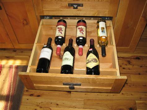custom wine drawer