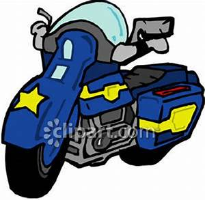 Police Motorcycle Free Clipart