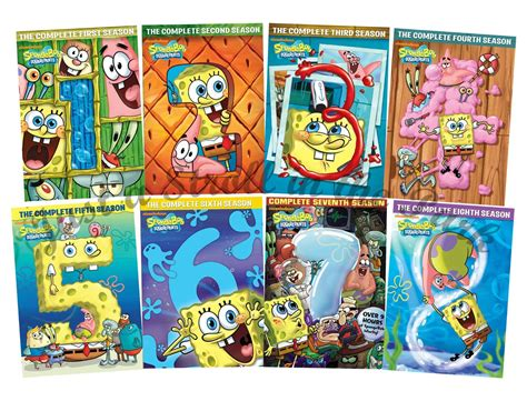 Spongebob Squarepants Series Complete Seasons 1 2 3 4 5 6