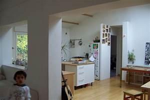 delicieux plan de travail separation cuisine sejour 5 With plan salon cuisine sejour salle manger