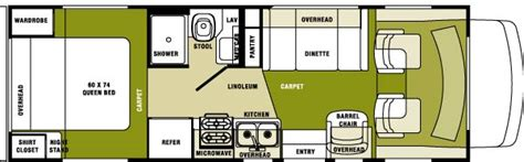 gmc motorhome floor plans home plans design motor home floor plans