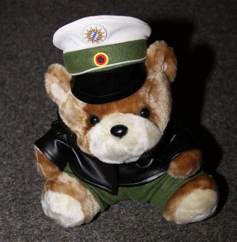 polizei geschenkartikel plueschartikel teddybaeren