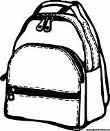 Backpack Coloring Printable Backpacks Pack Rucksack Escolares 6th Grade Ab Rucksac sketch template