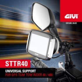Gps Moto Tomtom Rider 400 : givi givi sttr40 universal gps holder for tom tom rider 40 400 module moto ~ Medecine-chirurgie-esthetiques.com Avis de Voitures