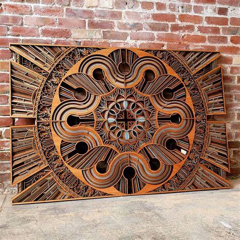 mesmerizing laser cut wooden sculptures fubiz media