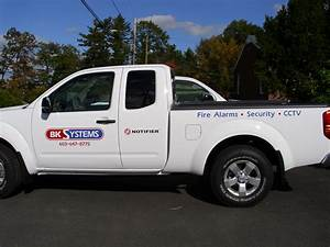 Vehicle Lettering Security System Truck