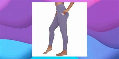 Yoga Pants Under Hips Crop Fitness