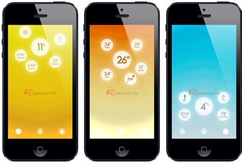 best weather app for iphone image gallery iphone 5 weather app