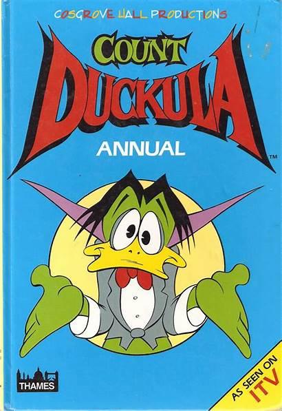 Count Duckula International Annual Fandom 1989 Wikia