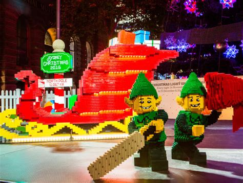 lego christmas sleigh whats  city  sydney