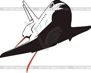 space shuttle clipart black and white space shuttle vector clipart