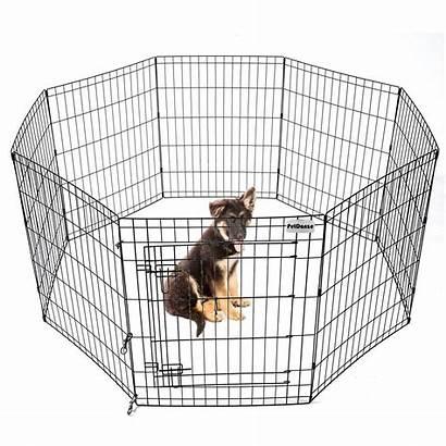 Dog Playpen Yard Play Puppy Door Pet