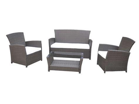 salon de jardin aluminium conforama mobilier de jardin