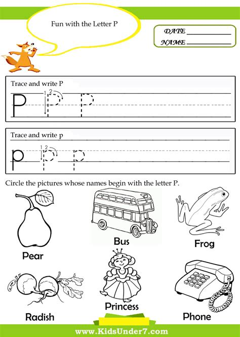 letter p tracing worksheets free worksheets library