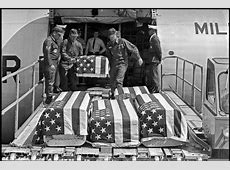 A casket, a dead soldier and a lament from a war long ago