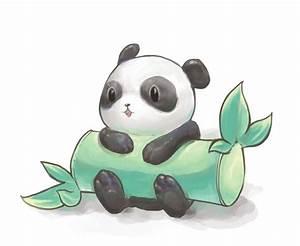 Cute drawing of panda! | Animals | Pinterest | Tiny panda ...