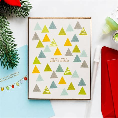 simon  stamp   layer christmas card ideas