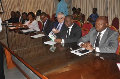 chambre nationale des commissaires priseurs actualité ohada togo cérémonie officielle de