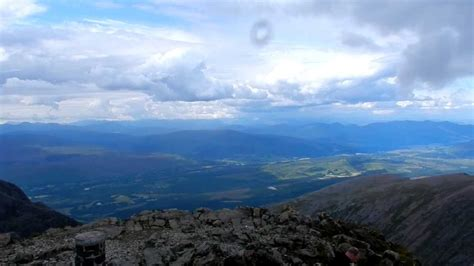 ben nevis summit view full hd scotland  youtube