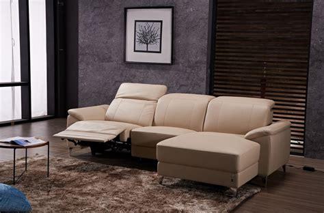 canap 233 d angle relax en cuir de buffle italien de luxe 5 places brio beige angle droit