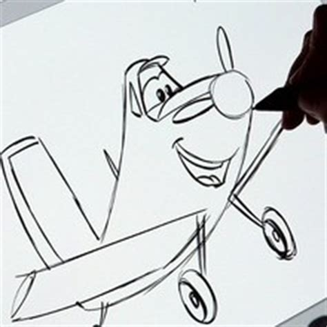 draw dusty crophopper  disney planes