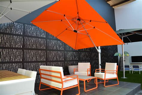 furniture inviting cantilever umbrella for outdoor space