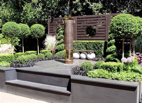 minimalist garden style  beautiful house  garden ideas