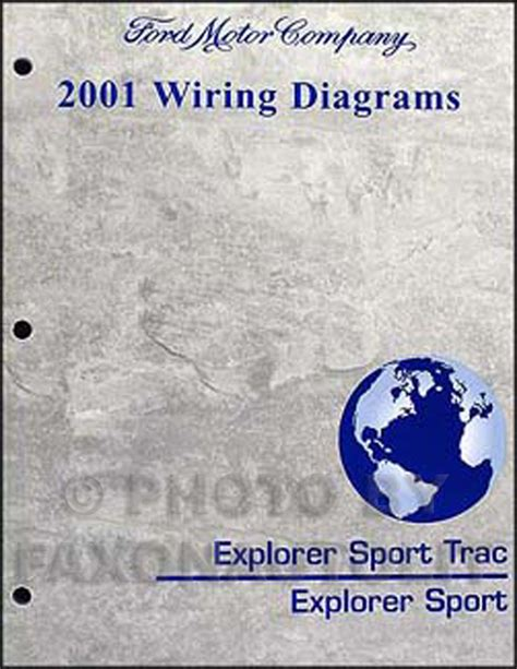 2001 ford explorer and sport trac wiring diagram manual