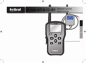 Irritrol Crr User Manual