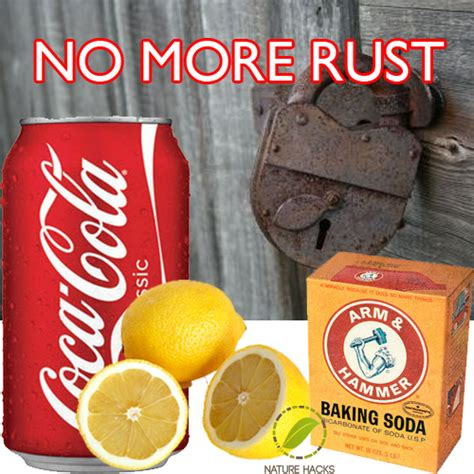 rust remove cleaning natural ways homemade naturally cola coca removing recipes clean herbs hacks easy household uploaded