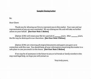 11  Sample Closing Business Letters