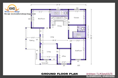 home plan  elevation kerala home design  floor plans