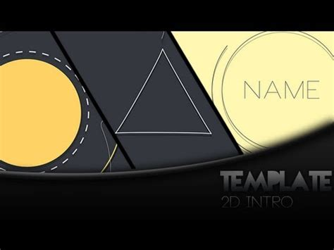 2d intro template subflexius template free 2d intro template