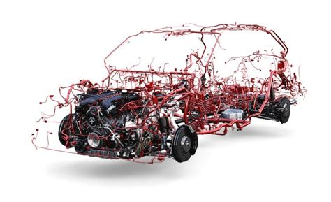 You Wire Modern Cars by Check Out How Much Wiring Goes Into The Bentley Bentayga