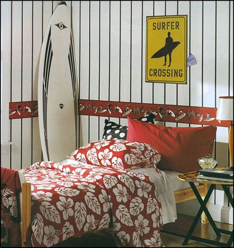 Surf Bedroom Decor by Decorating Theme Bedrooms Maries Manor Surfboards