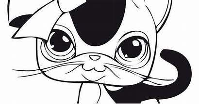 Lps Coloring Cat Pages