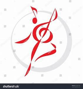 Dance Sign - Vector Logo Template. Music Logo. Human Logo ...
