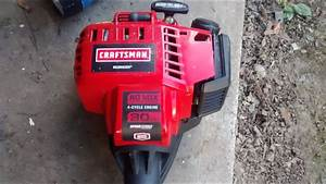 Craftsman 30cc 4 Cycle Weedwacker Temporary Fix