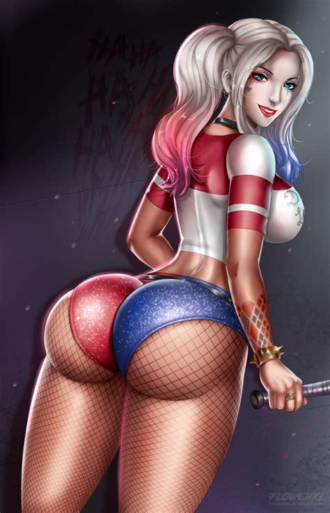 Harley Quinn By Flowerxl Hentai Foundry