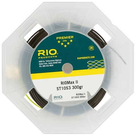 rio coldwater riomax ii saltwater fly fishing  type