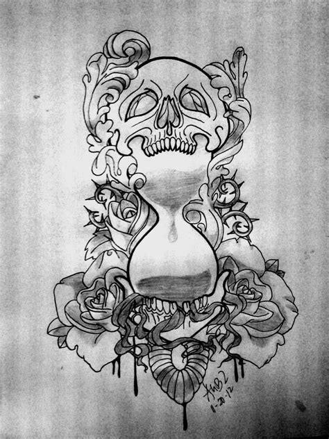 ART and TATTOO: Hourglass