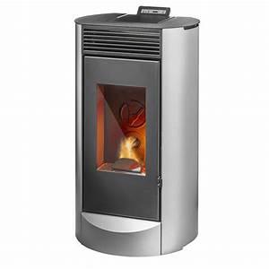Poele A Bois Ventilé : lodi 7 po le granul s de bois 7 kw air chaud ventil ~ Edinachiropracticcenter.com Idées de Décoration