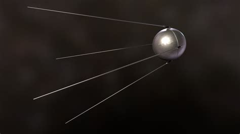 Sputnik 1 - Download Free 3D model by uperesito (@uperesito) [a9ae7f5] - Sketchfab