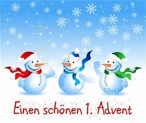 Grüße Zum 2 Advent Lustig : 1 advent bild schneemaenner kostenlos auf deiner ~ Haus.voiturepedia.club Haus und Dekorationen