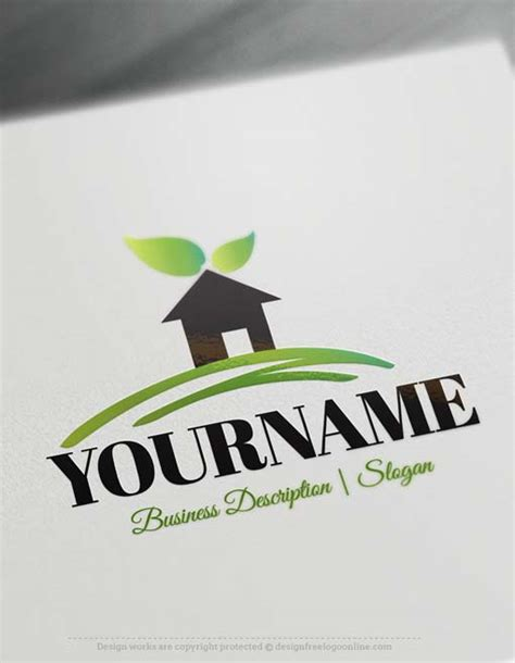 logo maker house logos