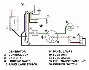 Shay Reproduction Gas Gauge Wiring Diagram