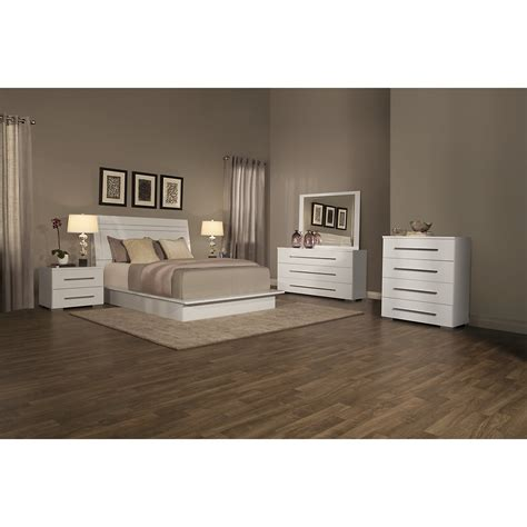 dimora white wood platform bed twin queen king beds