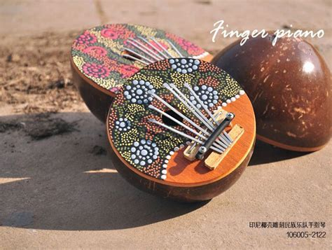 shipping finger piano african indigenous  tone