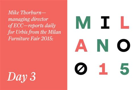 milan furniture fair  day  urbis magazine